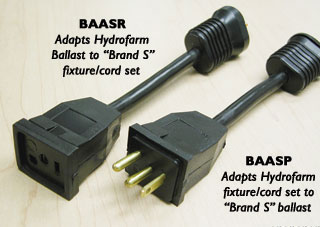 Conversion Plug (S refl. to HF Ballast) BAASR