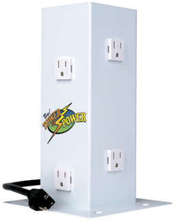 Tower of Power 6 Outlet Surge Protector