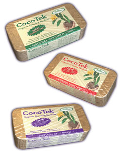 CocoTek Fine Coir Bricks (24 per case)