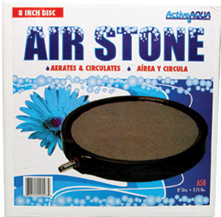 "Air Stone 8"" Disc (12/case)"