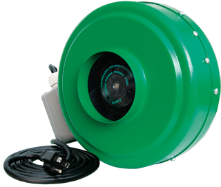 "Active Air 4"" In-Line Duct Fan 165 CFM"