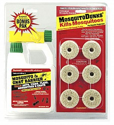 Mosquito Dunks Gnat Combo Pack