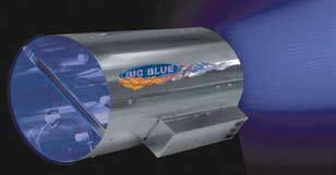 "10"" Big Blue 4 bulbs 600-800 CFM 3000 mg/hr"