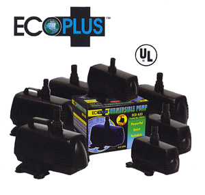 ECOPLUS� ECO-4950 SUBMERSIBLE & INLINE PUMP