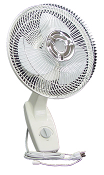Wall Mount Oscillating Fan. 16 in