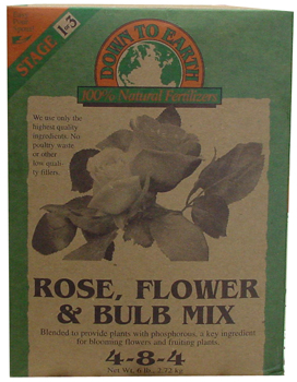 Rose, Flower and Bulb. 6 lb