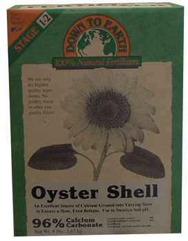 Ground Oyster Shell. 6 lb