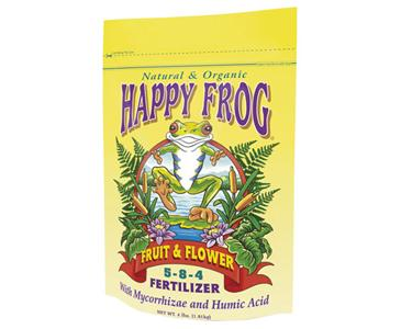 FOX FARM HAPPY FROG� FRUIT & FLOWER 5-8-4 - 4 LB BAG (8/CASE)