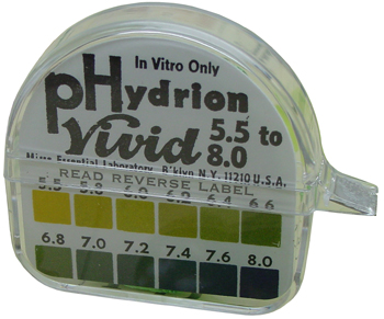 pHydrion Litmus Paper. (ph Test Strip)