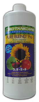 Pure Blend Pro Bloom. 1 Quart