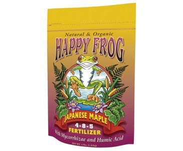 FOX FARM HAPPY FROG� JAPANESE MAPLE 4-8-5 - 4 LB BAG (8/CASE)