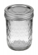 Ball Jar, 8 oz Quilted Crystal, pack of 12