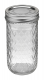 Ball Jar, 12 oz Quilted Crystal, pack of 12