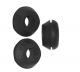 "CAP GROMMET, RUBBER 1/2"", FITS 13/16""-7/8"" HOLE"