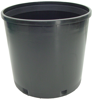 Plastic Pot. 10 in top x 9 in high