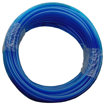 Vinyl Tubing - Blue. 1/2 in