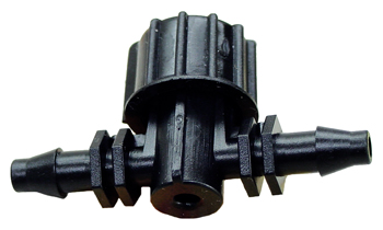 Plastic Valve. 1/4 in