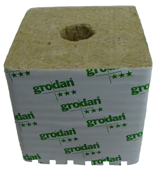 Rockwool Grow Cubes (DM 32G 40 /40). 6 in X 6 in X 5.5 in