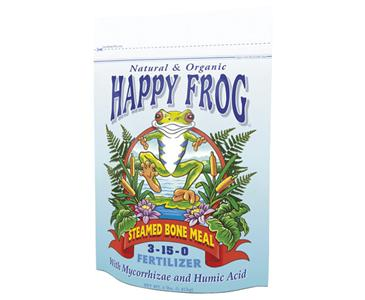 FOX FARM HAPPY FROG� STEAMED BONE MEAL 3-15-0 - 4 LB BAG (8/CASE)