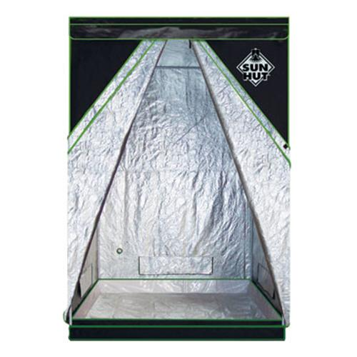 "SUN HUT SILVER XL 4X4 ENCLOSED GREENHOUSES - X LARGE - WEIGHS 50 LBS - 4' X 4' X 7' INT DIMENSIONS = 54"" X 54"" X 84"""