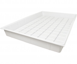 High Rise Flood Table 4x6' Premium White