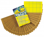 "SENSOR 3"" X 5"" YELLOW MONITORING CARDS - 48 PER PACK"