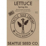 709125 Lettuce - Spring Mix OG (Case of 6)