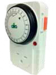 Gro1 Single Outlet Mechanical Timer - 240V