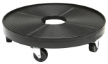Plant Dolly Black 16 in Round (8/Cs)