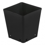 725046 Gro Pro Black Square Pot 5 x 5 x 5.25 in (8400/Plt)