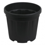 Gro Pro Round Ribbed Tub 1.2 Gallon - 4.5 Liter (3000/Plt)