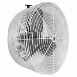 Schaefer Versa-Kool Circulation Fan 24 in w/ Tapered Guards, Cord & Mount - 7860 CFM