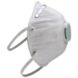 Grower's Edge Clean Room Conical Particulate Respirator Mask w/Valve (Pack of 10)