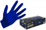 744440 Grower's Edge Blue Powder Free Nitrile Gloves 4 mil - Small (100/Box)