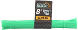 800049 Grower's Edge Twist Tie Precut 6 in (1= 100pcs/bundle)
