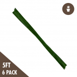 dl-800761 5' Bamboo Stakes Heavy Duty (6pk)