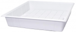 Active Aqua Premium Flood Table, White, 3' x 3'