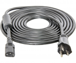 hf-BACD13 Power Cord For Phantom, Phantom DE, and Xtrasun Ballasts, 15', 240V, w/Ferrite Ring, AWG 16/3