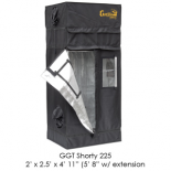 "2' x 2.5' Gorilla Grow Tent SHORTY w/ 9"" Extension Kit"