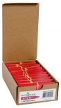 "Macore Co.     Plant Stake Labels Red, 4"" x 5/8"", Case of 1000"
