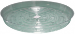 "Clear Saucer 14"", pack of 10"