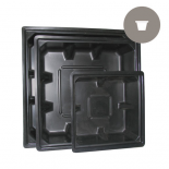 dl-HT677 100 Gallon Black Reservoir