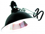 "8-1/2"" Clamping Light Fixture, Black"