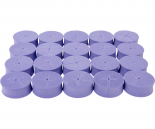 "hf-OX50045 oxyCLONE oxyCERTS - 1 7/8"", Purple, pack of 20"