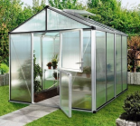 Optimum 96 (12x8) w/ 6mm poly Greenhouse
