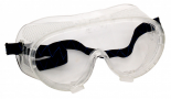 ZEN TEK Clear Reinforced Border & Strap Chemical Splash Goggles, Fog Free