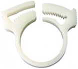 "3/4"" Plastic ""Snapper"" Clamp for Vinyl Hose"