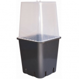 Square Dome w/ Vent (fits: dl-907405/dl-907403/dl-907413)