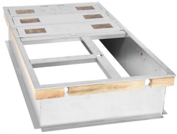 Ideal-Air DriFecta accessory, Roof Curb - 14 In high, Flat, Uninsulated, Full Perimeter