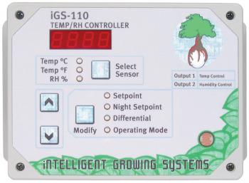 PNG IGS-110 DAY & NIGHT HUMIDITY & RELATIVE TEMPERATURE CONTROL